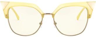 Cat Eye Fendi Eyewear Sunglasses