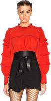 Isabel Marant Qimper Silk & Lace Blouse