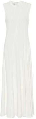 Co Sleeveless crApe maxi dress