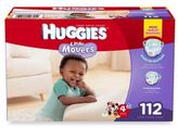 Huggies Little Movers Size 4 112-Count Giant Pack Diapers