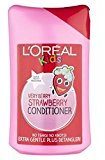 L'Oreal Kids Extra Gentle Very Berry Strawberry Conditioner 250Ml - Pack of 2