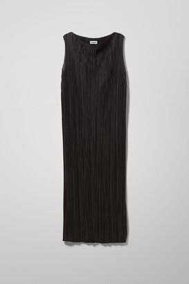 Weekday Izar Dress - Black