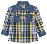 Levi's Yellow Denim Check Shirt