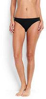 Classic Women's Low Waist Bikini Bottoms-Black