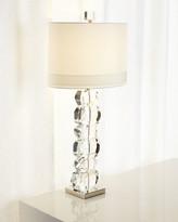 Global Views Lynx Stacked Gemstone Lamp