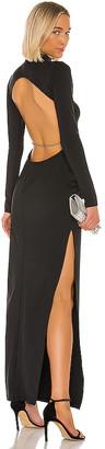 Michael Lo Sordo X REVOLVE Backless Crystal Dress