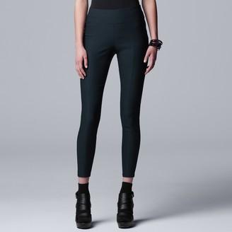Vera Wang Women's Simply Vera Everyday Luxury Ultra Stretch Skinny Pants