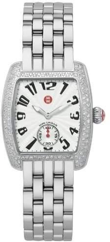 Michele Women's MWW02A000124 Mini Urban Diamond Steel Bracelet Watch