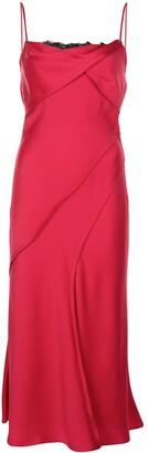 Jason Wu Collection Layered Slip Midi Dress