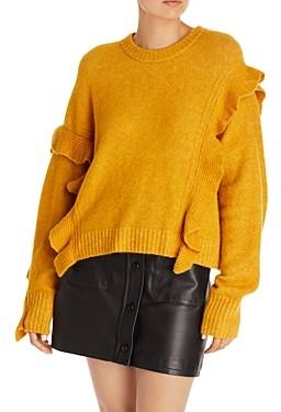 3.1 Phillip Lim Lofty Ruffle Sweater