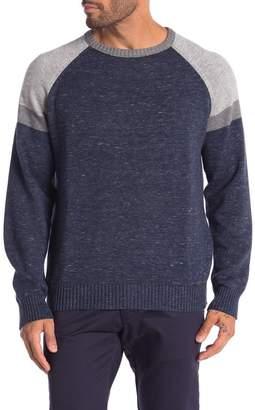 Weatherproof Vintage Colorblock Raglan Sleeve Sweater