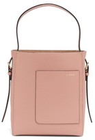 Valextra Small Grained-leather Tote Bag - Womens - Light Pink