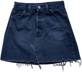 Levi's Re/Done X Re/done X Grey Denim - Jeans Skirt for Women