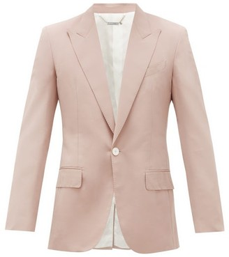 Givenchy Single-breasted Faille Blazer - Pink