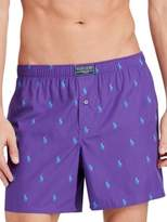 Polo Ralph Lauren Pony-Print Cotton Boxer