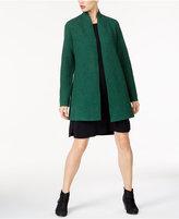 Eileen Fisher Wool Open-Front Overcoat, Regular & Petite