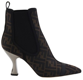Fendi Ff Heeled Boots
