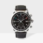 Paul Smith Men's Black 'Block' Chronograph Watch