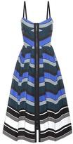 Fendi Striped Cotton Dress