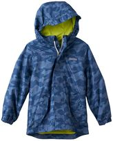 Osh Kosh Boys 4-7 Shark Pattern Lightweight Rain Jacket