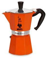 Bialetti Moka Express Stovetop Espresso 6-Cup Coffee Maker in Orange