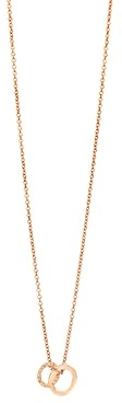 Pomellato 18K Rose Gold Brera Brown Diamond Pendant Necklace, 17.3