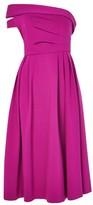 Topshop Bardot One Shoulder Prom Dress