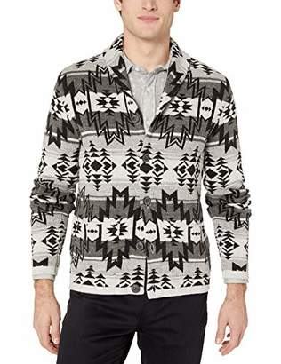 Lucky Brand Men's Ombre Shawl Cardigan Sweater