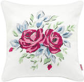 Cath Kidston 25th Birthday Rose Embroidered Cushion