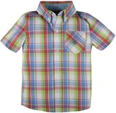 "Andy & Evan Nothing Else Madras"" Shirt (Toddler/Kid) - Red-3T"