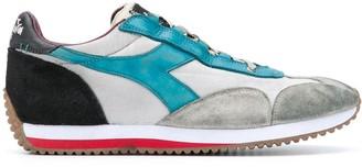 Diadora Distressed Color-Block Sneakers
