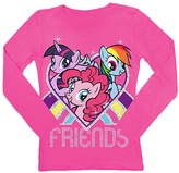 Freeze Hot Pink My Little Pony 'Friends' Tee - Girls