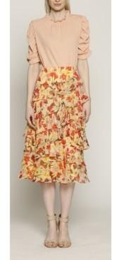 Walter Baker Women's Brigette Midi Skirt