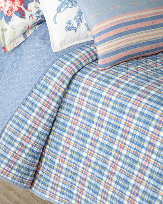 Ralph Lauren Home Lucie Plaid King Quilt