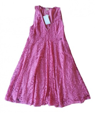 Galliano Pink Lace Dress for Women