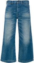 Polo Ralph Lauren wide-legged cropped jeans - women - Cotton - 27