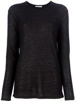 Alexander Wang long sleeved t-shirt - women - Silk/Rayon - XS