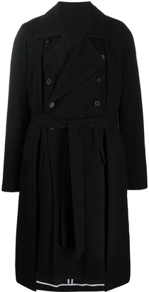Ann Demeulemeester Double Buttoned Trench Coat