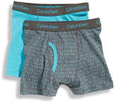 Calvin Klein Boys 4 to 18 365 Boxer Brief Two Pack