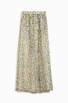 Paul & Joe Paisley Chiffon Maxi Skirt