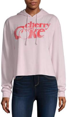 Coca Cola Coca-Cola Womens Long Sleeve Fleece Hoodie - Juniors