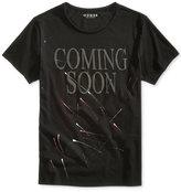 GUESS Men's Graphic-Print Cotton T-Shirt