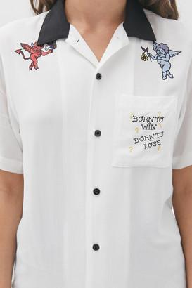 Hot Lava Born To Win Button-Down Shirt