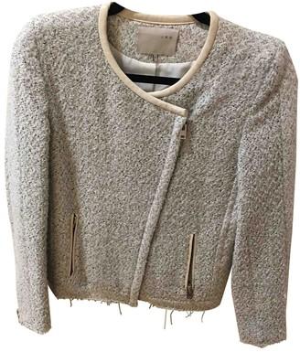 IRO Silver Tweed Jackets