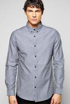 Boohoo Long Sleeve Stripe Shirt