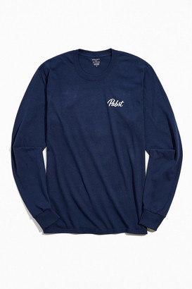 Urban Outfitters PBR Ribbon Long Sleeve Tee