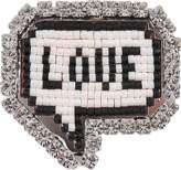 Shourouk Emojibling Bul Love brooch