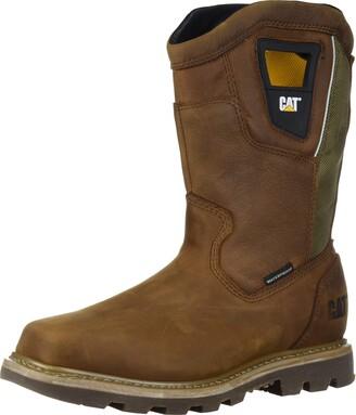 Caterpillar Men's STILLWELL Waterproof Steel Toe Industrial Boot Butterscotch 10.5 M US