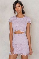 Lace Bailey Bodycon Dress
