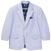 U.S. Polo Assn. Classic Seersucker 2-Button Blazer (Little Boys & Big Boys)